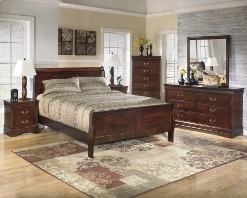 Ashley 4-Piece Full Sleigh Bed Set