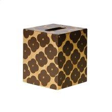 Kleenex Box Gold and Brown PATTERN.