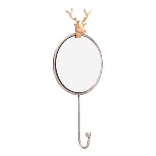 Antler Mirror Antique