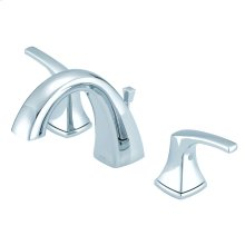 Chrome Vaughn® Two Handle Widespread Faucet