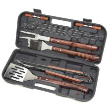 Wooden Handle Tool Set (13-Piece)