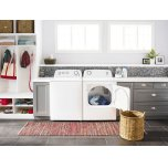 Amana 6.5 Cu. Ft. Electric Dryer With Wrinkle Prevent Option White