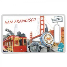 3D San Francisco Cutting Board