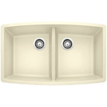 Blanco Performa Equal Double Bowl - Biscuit