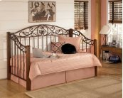 Wyatt - Reddish Brown 2 Piece Bed Set (Twin)