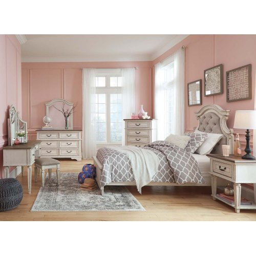 Realyn - Chipped White 3 Piece Bed Set (Twin)