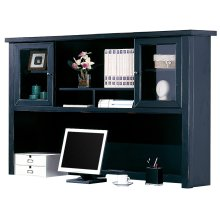 Hutch with Sliding Doors