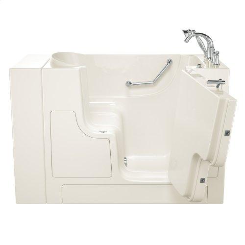 Gelcoat Value Series 30x52-inch Outward Opening Door Soaking Walk-In Bathtub  American Standard - Linen