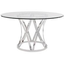 Gustav Round Metal Dining Table