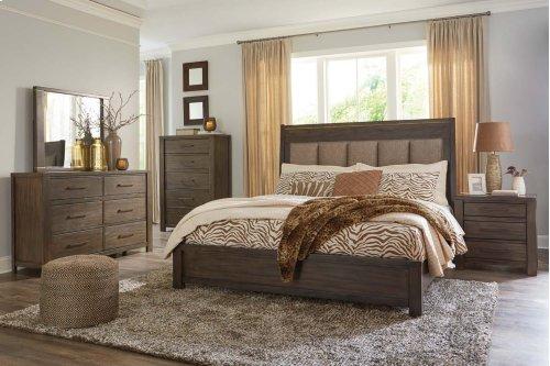 Camilone - Dark Gray 2 Piece Bedroom Set