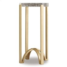 Living Room Skyline Metal Accent Table