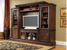 North Shore - Dark Brown 4 Piece Entertainment Set Product Image