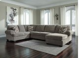 Jinllingsly - Gray 3 Piece Sectional Product Image
