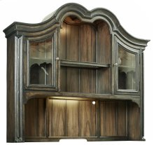 Home Office Auberose Computer Credenza Hutch