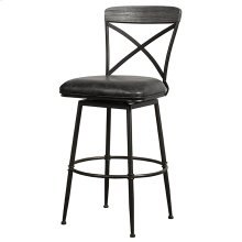 Decker Commercial Grade Swivel Counter Height Stool