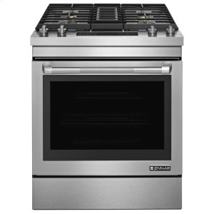 "JENN-AIRPro-Style(R) 30"" Dual-Fuel Downdraft Range Pro Style Stainless"