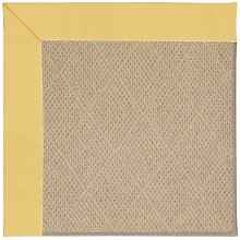 Creative Concepts-Cane Wicker Canvas Canary Machine Tufted Rugs