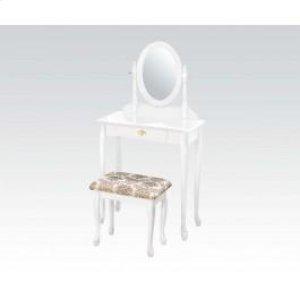 Wood Veneer Vanity Set