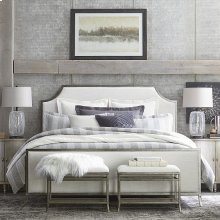 Queen Palisades Upholstered Panel Bed