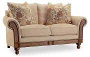 Living Room Windward Dart Honey Loveseat Product Image