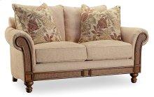 Living Room Windward Dart Honey Loveseat