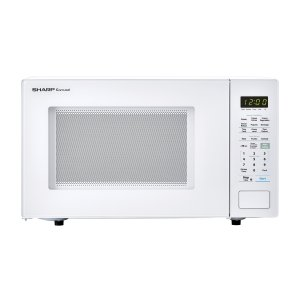 Sharp Appliances1.4 cu. ft. 1000W Sharp White Countertop Microwave
