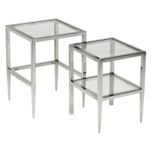 Albany Square Nesting Table (set of Two)