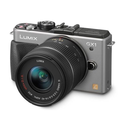 LUMIX® GX1 16 Megapixel Compact System Camera (14-42mm Lens Kit)