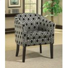 Charlotte Hexagon Print Accent Chair Product Image