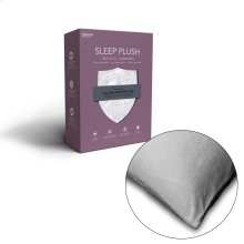 Sleep Plush Pillow Protector with Ultra-Soft and Waterproof Fabric, Standard / Queen