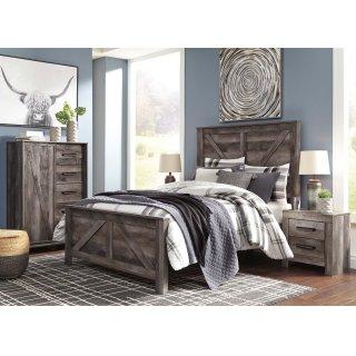 Wynnlow Queen Crossbuck Bed