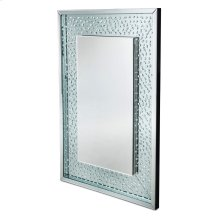 Rect Wall Crystal Mirror W/o LED Lights