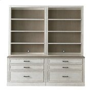 """Bella 80"""" Library Bookcase Product Image"""