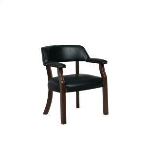 CoasterTraditional Black Office Chair