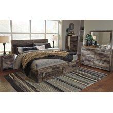 Derekson King Bedroom Set: King Bed, Nightstand, Dresser & Mirror