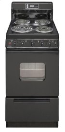 20 in. Freestanding Electric Range in Black Product Image