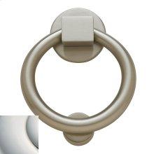 Polished Nickel with Lifetime Finish Ring Knocker