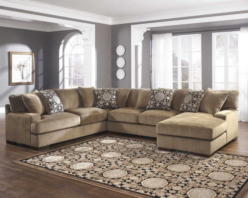 Ashley 4-Piece Sectional with LAF Chaise