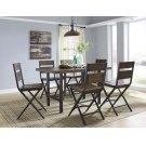 Kavara - Medium Brown 7 Piece Dining Room Set Product Image