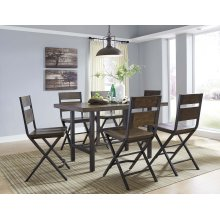 Kavara - Medium Brown 7 Piece Dining Room Set