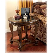 T499-6  Round End Table