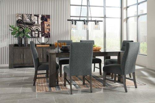 Chansey - Dark Gray 5 Piece Dining Room Set