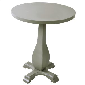 !nspire Mallory Accent Table In Grey
