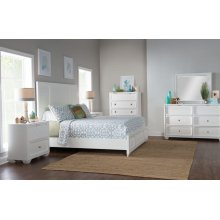 Willow Creek Panel Bed, King 6/6