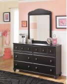 Jaidyn - Black 2 Piece Bedroom Set Product Image