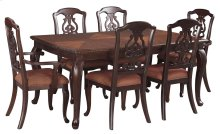 Gladdenville - Brown 7 Piece Dining Room Set