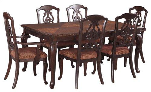 Gladdenville - Brown 7 Piece Dining Room Set