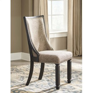 Ashley Furniture Tyler Creek - Black/gray Set Of 2 Dining Room Chairs