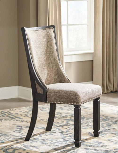 Tyler Creek - Black/Gray Set Of 2 Dining Room Chairs