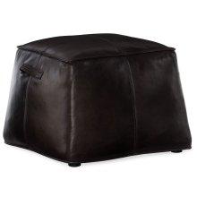 Living Room Birks Large Leather Ottoman